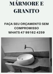 COZINHA E LAVATÓRIO EM GRANITO