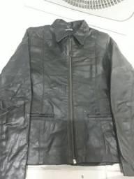 Vendo jaqueta de couro legítimo de marca
