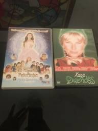Dvds de filme da Xuxa