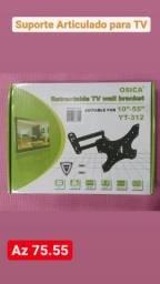 Suporte Tv 10 A 48 Tri-articulado P/ Led/lcd/3d Multiforma