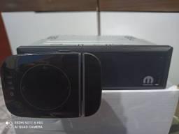 Rádio Original Fiat Mobi com suporte para celular