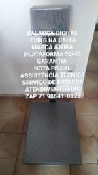 MODELO CHÃO ( BALANÇA 300kg DIGITAL NA CAIXA ) GARANTIA SERVIÇO DOMICILIO
