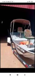 Barco plataformado 6 metros 40 hp