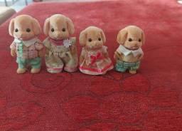 Sylvanian Families Família Dos Poodles Toy 5259 - Semi-novo