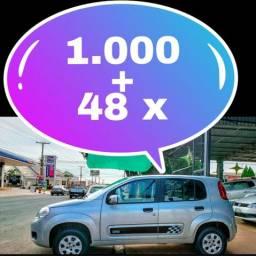 Uno vivace básico na promoção é na LUIZA automóveis