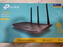 Roteador wireless TP-Link vc na caixa