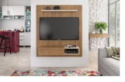 Título do anúncio: Rack suspenso da Caemmun com espaço para TV até 50 polegadas || NOVO