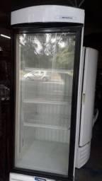 Refrigerador porta de vidro, 440 litros, Metalfrio, 110V