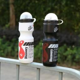 Garrafa de Água Esportiva/Portátil com 650ml para Ciclismo/ Bicicleta/ Esporte ao Ar Livre