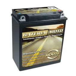 Bateria Route Moto Yamaha Virago 535