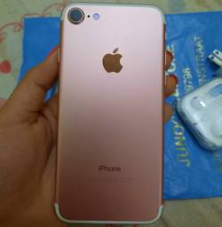 iPhone 7ouro rosa