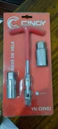 Chave de vela articulada 16mm e 21mm