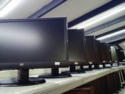 Título do anúncio: Monitores 19 Polegadas Widescreen Diversos Modelos Loja Fisica Curitiba!