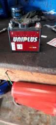 Bateria 5 amperes titan e biz pop factor ybr fan 125