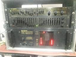 amplificador pa 1800d
