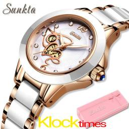Relógio femenino Relógio Cerâmico