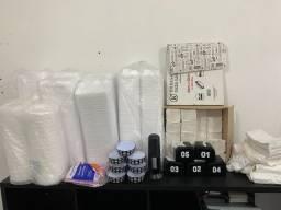 Embalagens variadas para lanchonete
