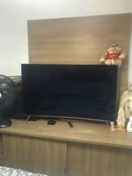 Móvel de tv com painel,promoção só hoje 450,00 aceito cartão de crédito