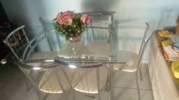 Mesa cm 6 cadeiras