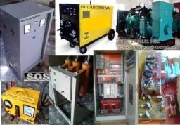 Montagens, fabricação em Equipamentos elétricos industriais!