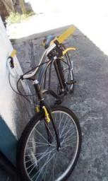 Bicicleta semi nova, usada pouquíssimas vezes.