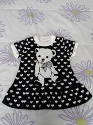 Vestido bebê Pituchinhus Mini