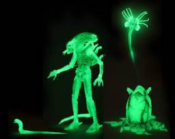 Neca Sdcc 2020 Exclusive Alien Big Chap Glow In The Dark