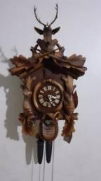 Relógio de parede cuco germânico modelo caçador original