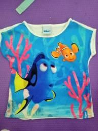 Blusa Nemo e Dory