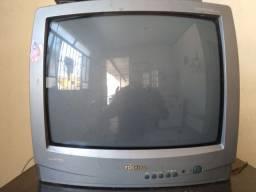 Tv Semp Toshiba 20 polegadas +conversor digital multilaser