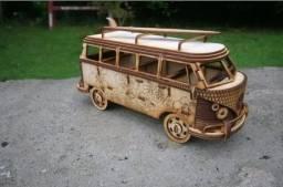 Quebra Cabeças Miniaturas Mdf / Quebra Cuca 3D / vários modelos