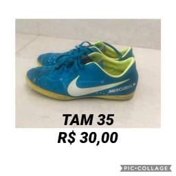 Chuteira Nike infantil TAM 35