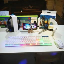 kit para estudos, jogos e trabalhos online transforma seu celular em PC/molbilador