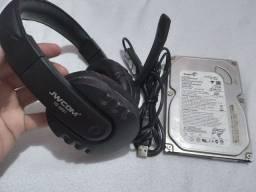 HEADSET GAMER HD 160GB