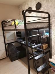 Vendo cama ( sem colchão ) e escritório