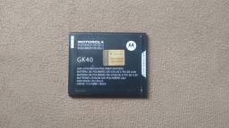 BATERIA MOTO GK40 SEMI NOVA R$ 50