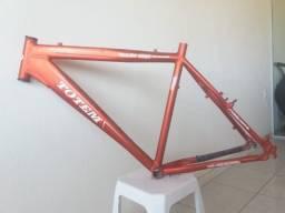 Quadro de bicicleta mtb Totem de alumínio tamanho 17 v-brake