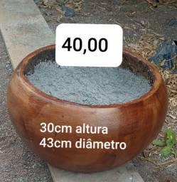 Vasos de concreto leve com preço de fábrica