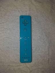 Controle Nintendo wii remoto original azul