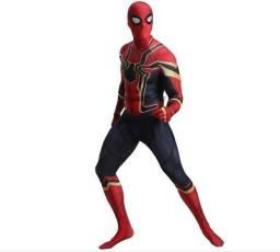 Fantasia Homem Aranha de Ferro Vingadores