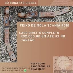 Feixo de Mola Scania P310 LD Completo