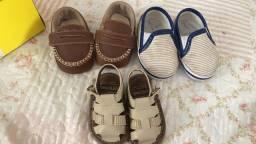 Saltinhos e sandálias