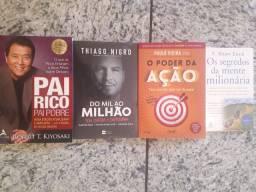 Livros Pai Rico e Pai Pobre