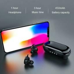 Fone de Ouvido Y30 sem Fio Bluetooth Binaural Estéreo 5 0 Esportivo