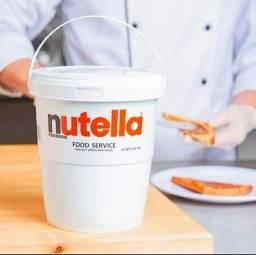 Nutella 3 Kg Creme De Avelã Balde Com Alça Original  Ferrero