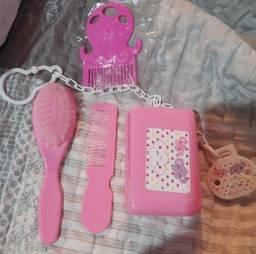 Kit Higiene Novo bebê Rosa