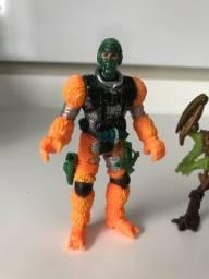Bonecos de brinquedo coleção  bombeiro monstros pirata