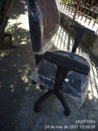 Cadeira Nova!  giratória com pistão a gás e back system