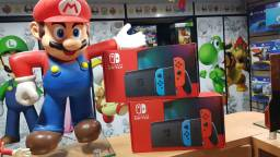 Nintendo switch novo modelo (lacrado/game hero/Madureira)