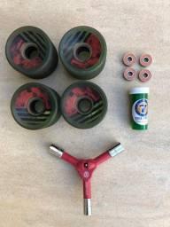 Skate longboard Globe + acessórios